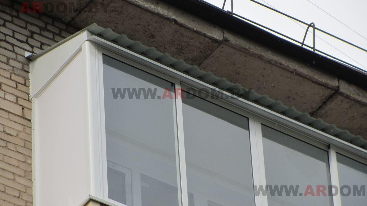 Утепление крыши на балконе