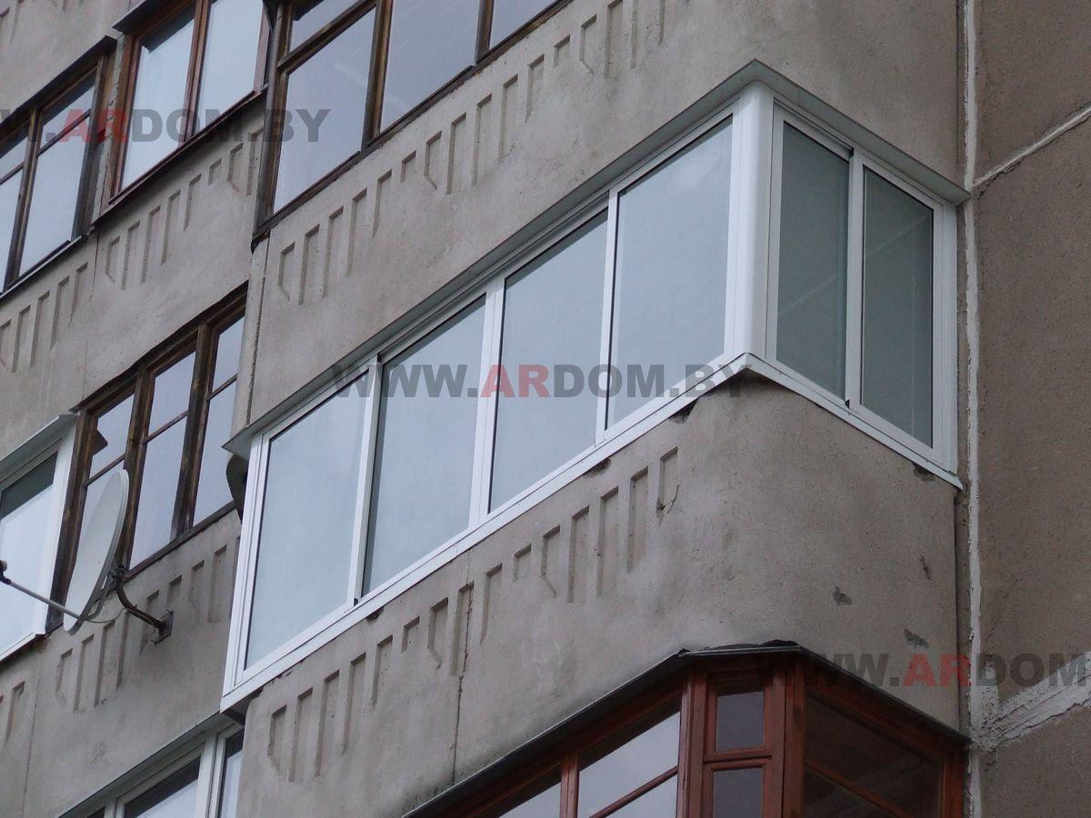 Цены на балкон 3.5*1.15 м Чешка